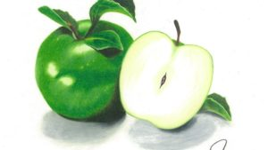 Year Of The Apple Art Contest Winner Features 'Granny Smith'