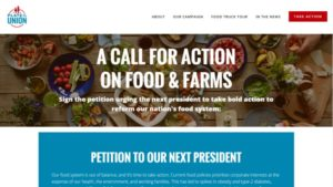 Coalition To Presidential Candidates: Reform America's Food System