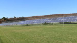 solar panels at Sterman Masser
