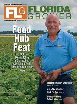 Nov. 2016 Florida Grower magazine cover