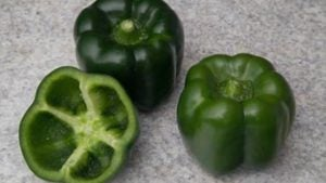 New Green Pepper Offers Improved Taste And Color