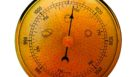 Graphic illustration of a barometer for citrus
