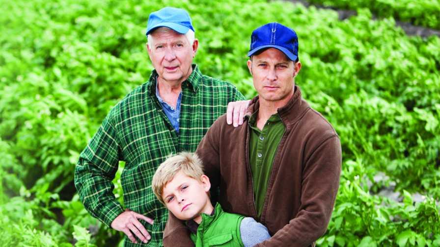 Multigeneration farm family