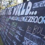 One World Challenge wall at the University of Florida