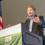 Adam Putnam speaking at the 2016 FFVA Annual Conference