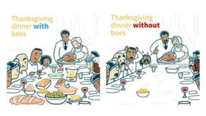 Partnership Highlights Key Role Bees Play In Thanksgiving Meal