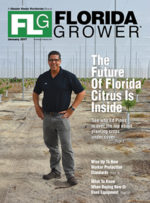 Jan. 2017 Florida Grower magazine cover