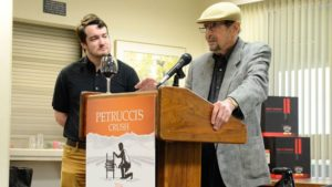 Dr. Vincent Petrucci at the release of the Petrucci's Crush Dec. 1. (Photo credit: California State University, Fresno)