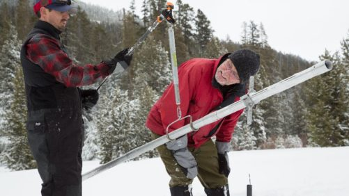 California Snowpack Below Average – For Now