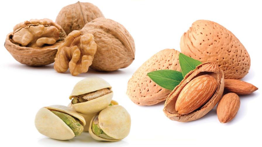 Almond walnut