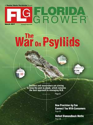 March 2017 Florida Grower magazine cover