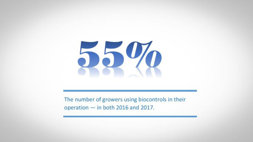 5 Graphics that Show How Biocontrols are Used by Vegetable Growers