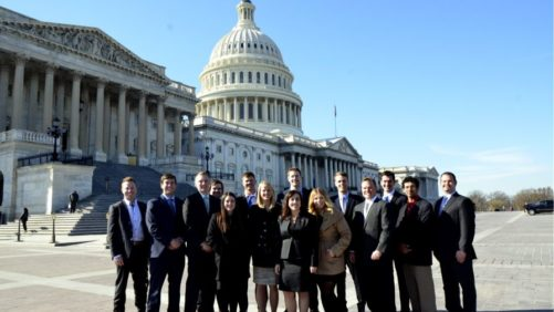 Young Apple Growers Meet with Lawmakers