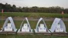 Bee Vectoring Technologies experimental hives