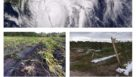 Hurricane season photo collage