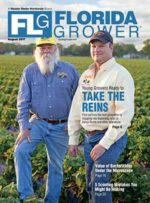 August 2017 Florida Grower magazine cover