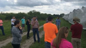 Young Growers See Evolving Orchard Production on Cornell Tour