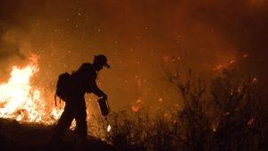 Wildfires Hit California Wine Country