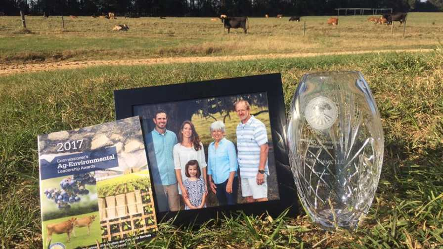 Cindale Farms family and industry award