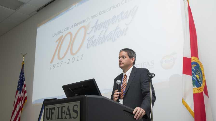 Michael Rogers speaks at CREC 100