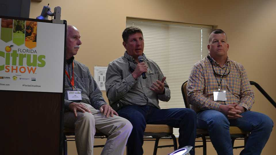 2018 Florida Citrus Show grower panel - Jim Snively
