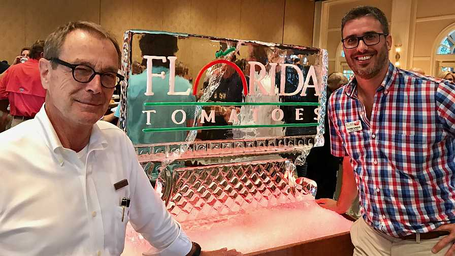 Florida tomato leaders Reggie Brown and Michael Schadler