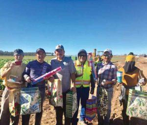 Tanimura & Antle field workers raffle-winners-1