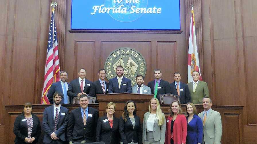 FFVA Emerging Leaders visit Florida Senate