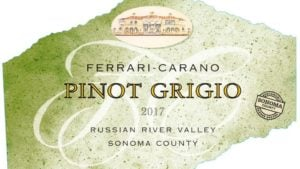 New Wine Label for Sonoma Sustainability