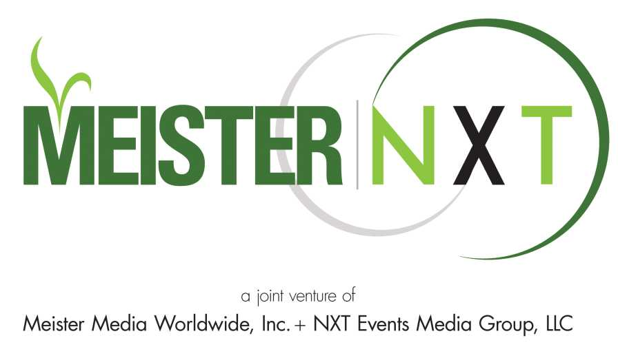 Meister Media Worldwide and NXT Events Media Group joint venture logo