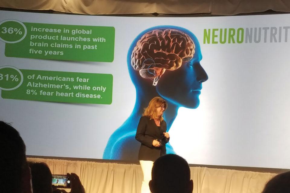 Neuronutrition presentation at pistachio conference