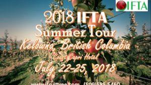 IFTA Summer Tour Registration is Open
