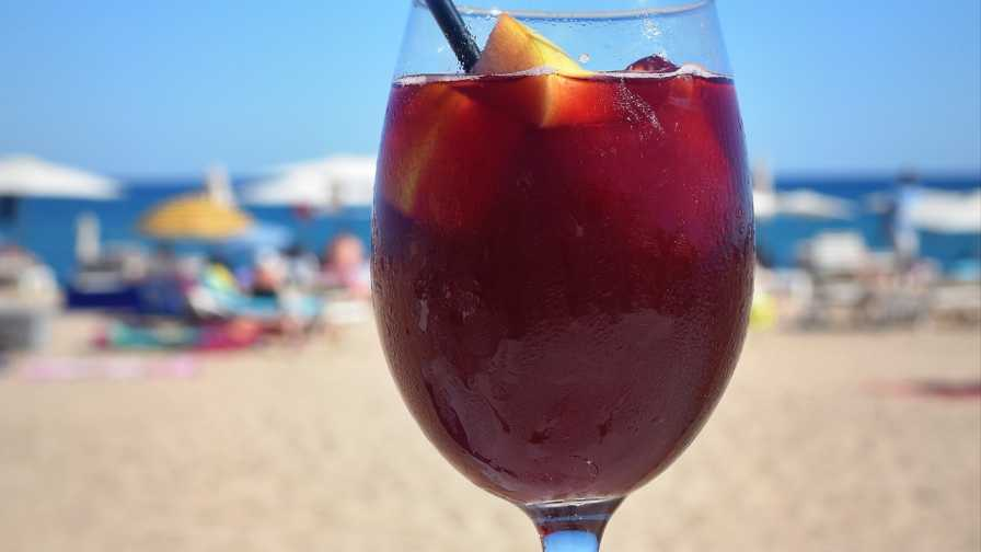 Beachside sangria
