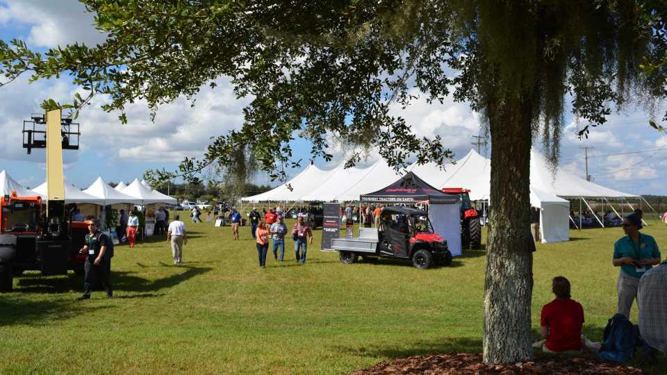 2015 Florida Ag Expo outdoor landscape